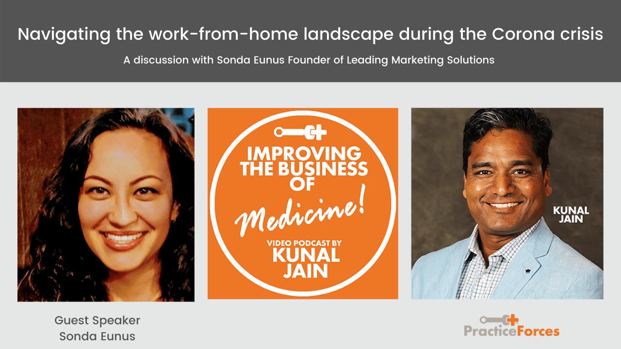 Kunal Jain with guest speaker Sonda Eunus