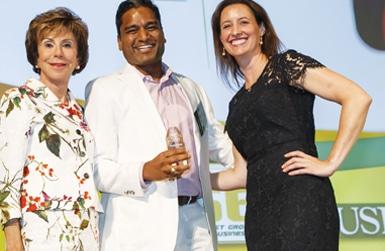 Kunal Jain at USF Fast 56 Award Show