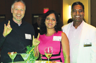Darin George, VP of Sales & Business Development, Parul Garg, Co-Owner & VP of RCM, and Kunal Jain, Co-Owner & CEO